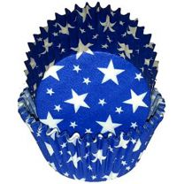 Blue With White Stars Baking Cups, 500 ct.