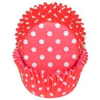 Red Polka Dot Baking Cups, 500 ct.
