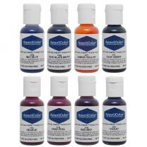 Americolor .75 oz Soft Gel Paste 8 Color Junior Kit