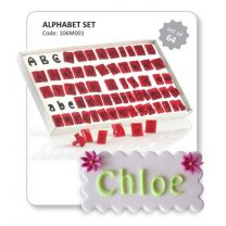 JEM Alphabet Cutter Set, 64 Pcs