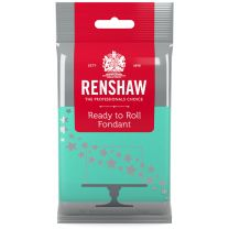 Renshaw Ready-To-Roll Fondant Icing Aqua 8.8 oz