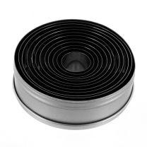 Plain Round Cutter Set 11pc