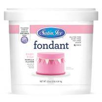 Satin Ice Fondant Baby Pink 2#