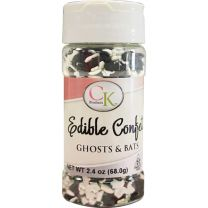 Bats & Ghosts Edible Confetti 2.4 oz