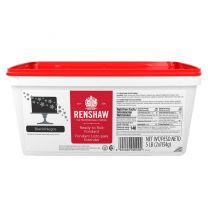 Renshaw Ready-To-Roll Fondant Icing Black 5 lb