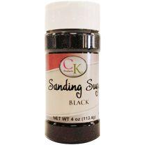 4 oz Sanding Sugar - Black