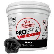 Fat Daddio's Fondant Black Vanilla 5 lb.