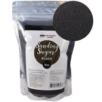 Sanding Sugar Black 16 oz by Cake SOS