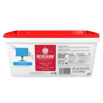 Renshaw Ready-To-Roll Fondant Icing Blue 5 lb