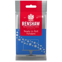 Renshaw Ready-To-Roll Fondant Icing Blue 8.8 oz