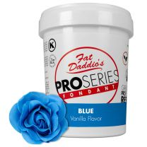 Fat Daddio's Fondant True Blue Vanilla 2 lb.