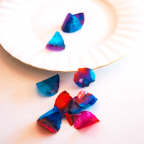 Edible Rose Petals - Blue and Red