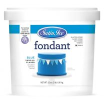Satin Ice Fondant Blue 2#
