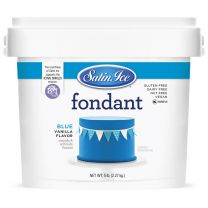 Satin Ice Fondant Blue 5#