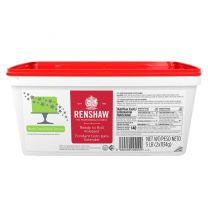 Renshaw Ready-To-Roll Fondant Icing Bright Green 5 lb