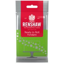 Renshaw Ready-To-Roll Fondant Icing Bright Green 8.8 oz