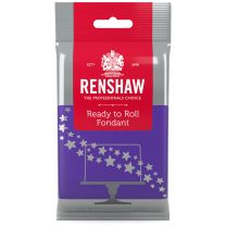 Renshaw Ready-To-Roll Fondant Icing Bright Purple 8.8 oz