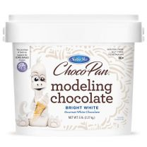ChocoPan Bright White Modeling Chocolate 5#