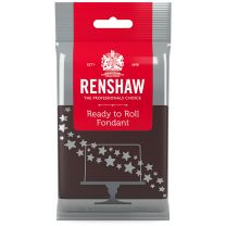 Renshaw Ready-To-Roll Fondant Icing Brown 8.8 oz