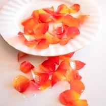 Edible Rose Petals - Burnt Orange and Yellow