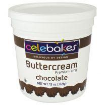 Celebakes Chocolate Buttercream Icing, 13 oz