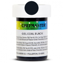 Gel Food Color Coal Black 1 oz
