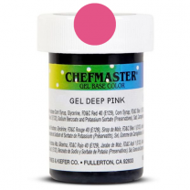 Gel Food Color Deep Pink 1 oz