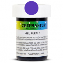 Gel Food Color Purple 1 oz