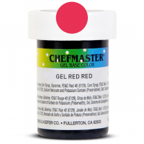 Gel Food Color Red Red 1 oz