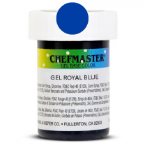 Gel Food Color Royal Blue 1 oz
