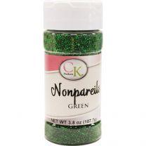3.8 oz Non-Pareils Green