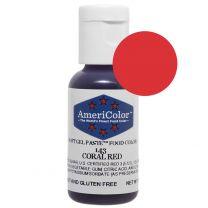Americolor Coral Red 3/4 oz