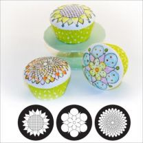 Cupcake/ckie Texture Tops - Whimsy Blooms