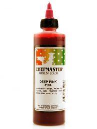 Chefmaster Deep Pink - 9 oz