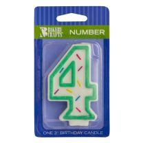 Sprinkle Candles Number 4