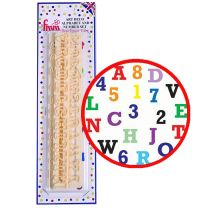 Alphabet & Numbers Set - Uppercase