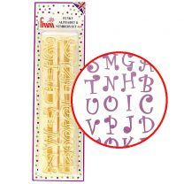 Funky Alphabet & Number Set