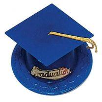 Graduation Hat - Dark Blue
