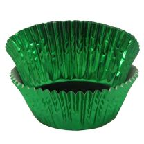 Green Foil Baking Cups, 500 ct.