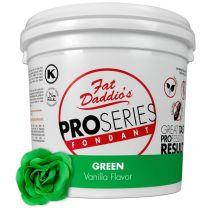 Fat Daddio's Fondant Green Vanilla 5 lb.