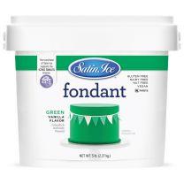 Satin Ice Fondant Green 5#