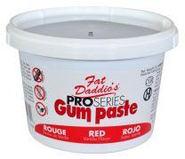 Fat Daddio's Gum Paste Red 1 lb.