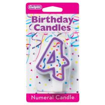 Birthday Candle Number 4
