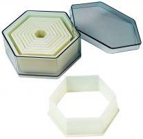 Hexagon Nylon Cutter Set, 9 pc