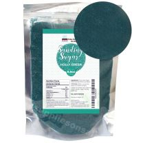 Sanding Sugar Holly Green 8.8 oz by Cake SOS