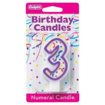 Birthday Candle Number 3