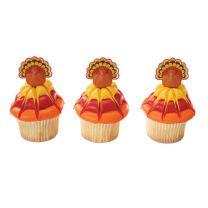 Turkey, Cupcake Pics, 12 ct