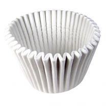 Jumbo White Baking Cups, Count of 75