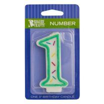 Sprinkle Candles Number 1