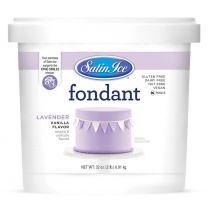 Satin Ice Fondant Lavender 2#